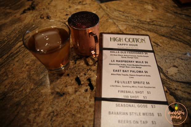 High Cotton-drinks and drink menu